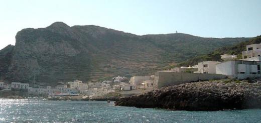 Isola di Levanzo, porticciolo