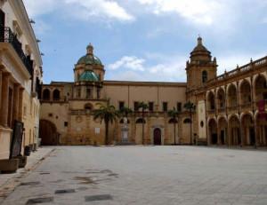 Piazza della Repubblica a Mazara del Vallo