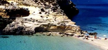 A beach in Lampedusa