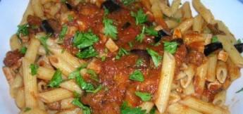 Pasta con pesce spada alla siciliana, ricette siciliane estive