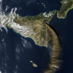 Etna dal satellite