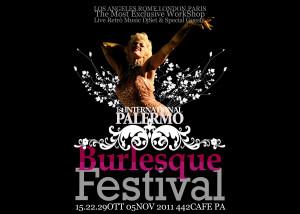 Festival del Burlesque a Palermo