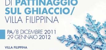 Pista di pattinaggio a Villa Filippina - Natale 2011