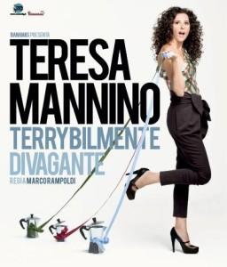 Teresa Mannino al teatro Golden di Palermo, marzo 2012