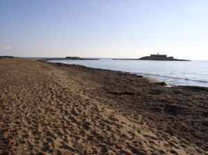 Isola delle correnti spiaggia - Portopalo