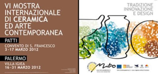 Circuito del mito 2012 a Palermo: mostra internazionale di ceramica