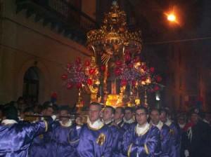 Processione delle vare o misteri a Caltanissetta - da siciliainfesta.com