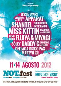 Not fest 2012 Programma