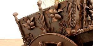 Lavorazioni in cioccolato a Taormina