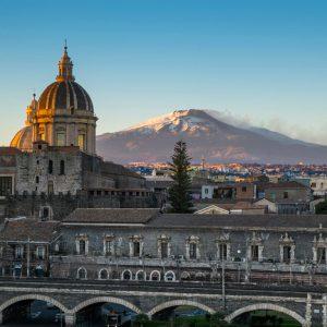 Vista di Catania